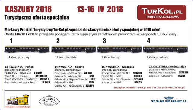 TurKol Oferta specjalna Kaszuby 2018