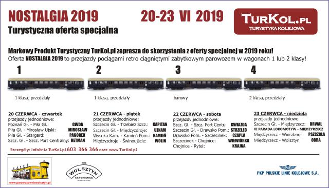 TurKol Oferta specjalna Nostalgia 2019